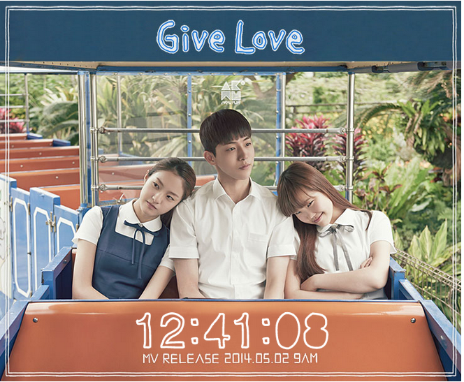 AKMU-Give Love MV Counter